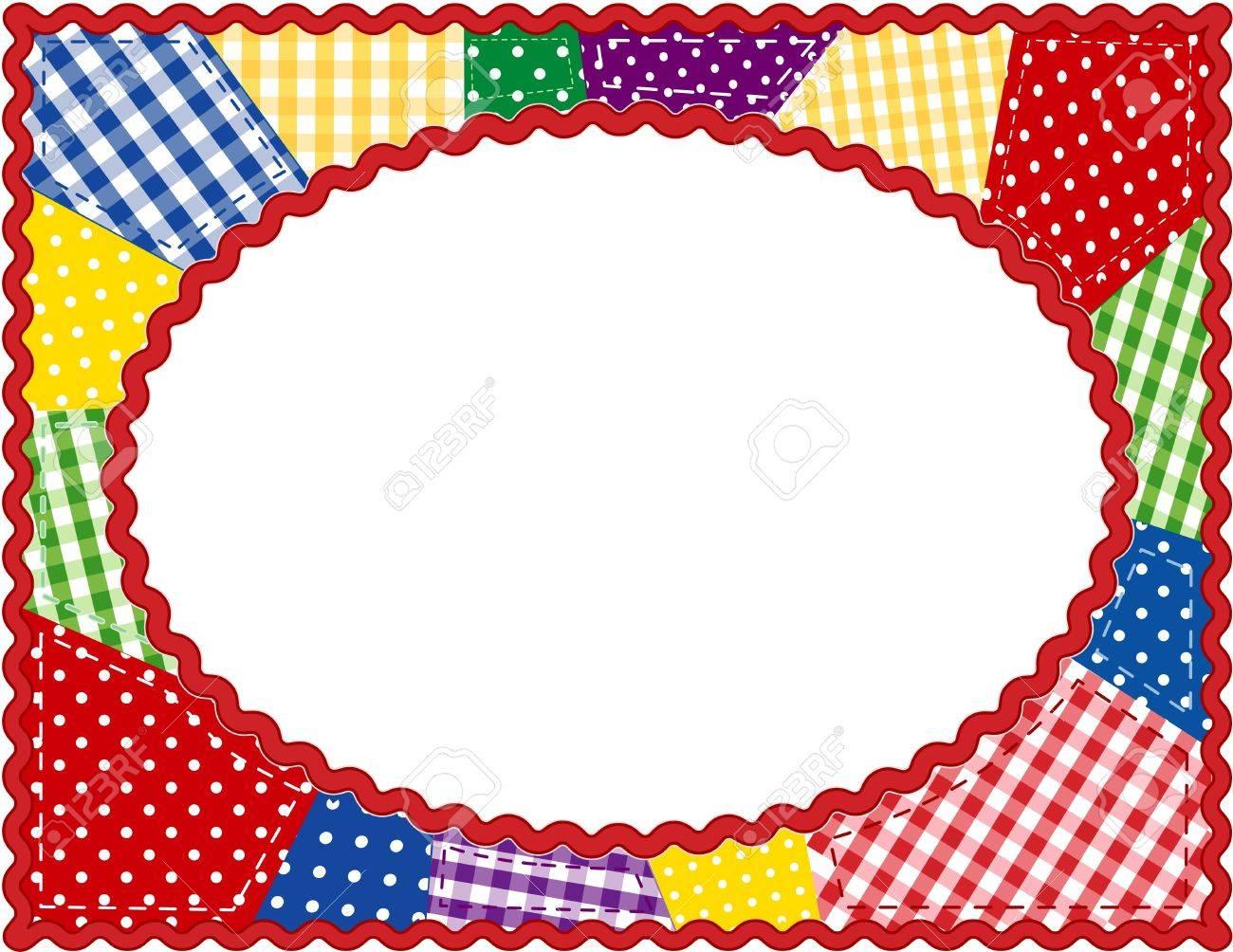 Patchwork Quilt Frame - 13211716