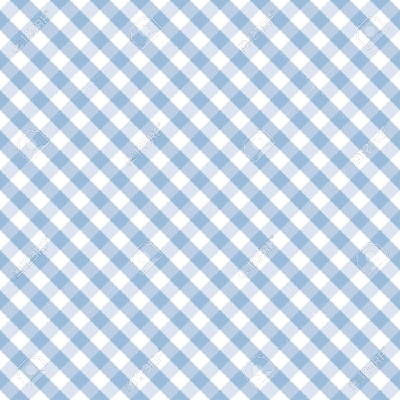 Seamless Cross Weave Gingham pattern in pastel blue and white includes pattern swatch that will seamlessly fill any shape Stock Vector - 14119477