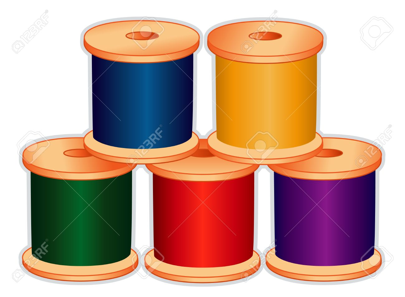 Spools of thread in jewel colors for sewing tailoring quilting spools of thread in jewel colors for sewing tailoring quilting crafts needlework solutioingenieria Gallery