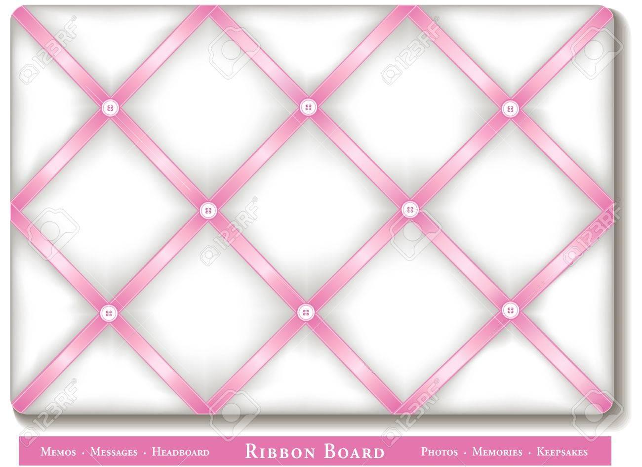 Cinta Tablón De Anuncios, Cintas De Raso De Color Rosa Pastel A ...