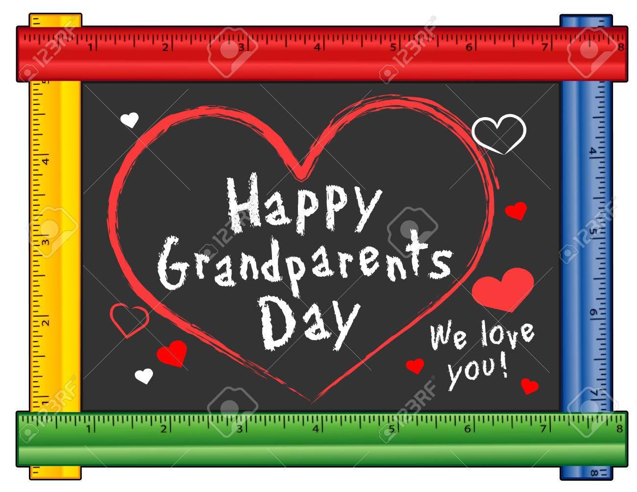 Großeltern-Tag, USA Urlaub Am Ersten Sonntag Im September Nach Dem ...
