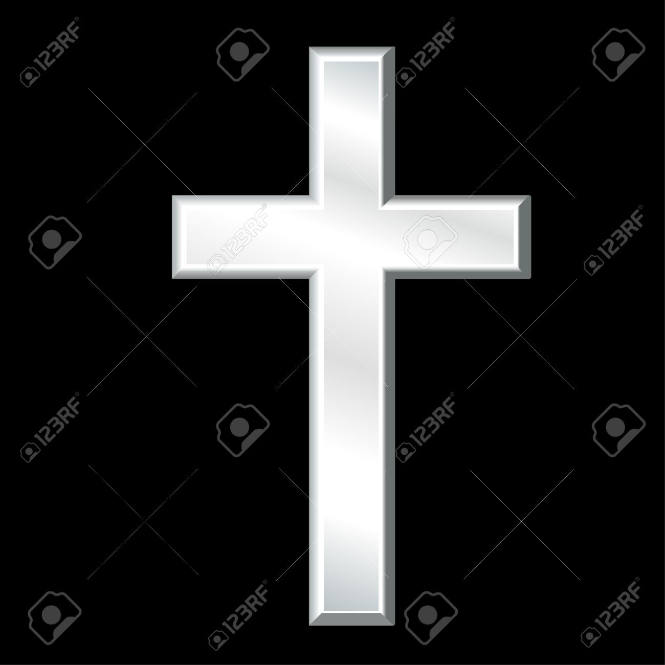 Christian Cross Symbol Of Christianity Silver Crucifix Symbol