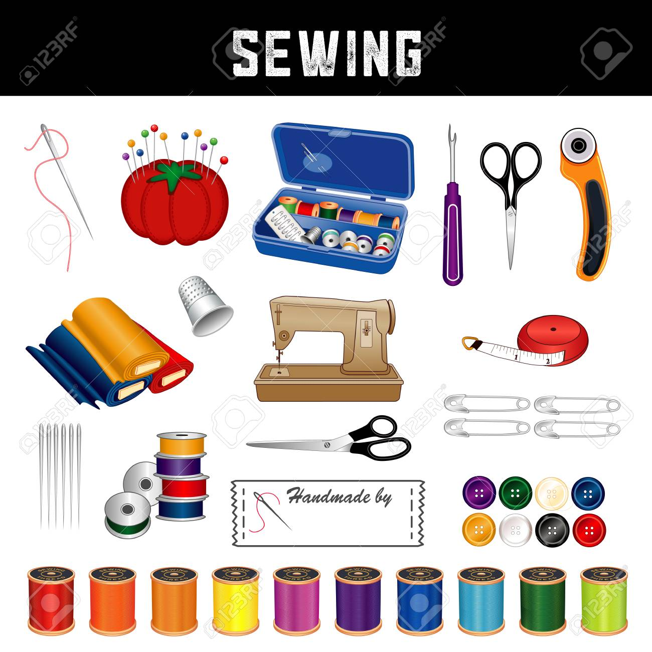 Sewing and tailoring supplies and tools - 120220443