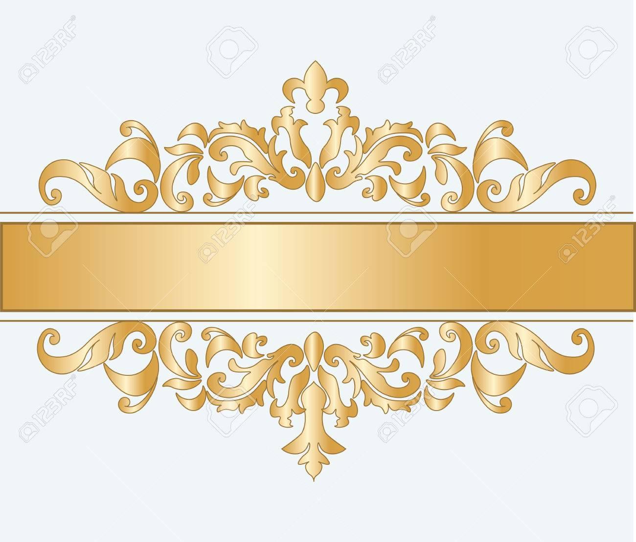 Royal classic ornament damask invitation vector royalty free royal classic ornament damask invitation vector stock vector 50048360 stopboris Images