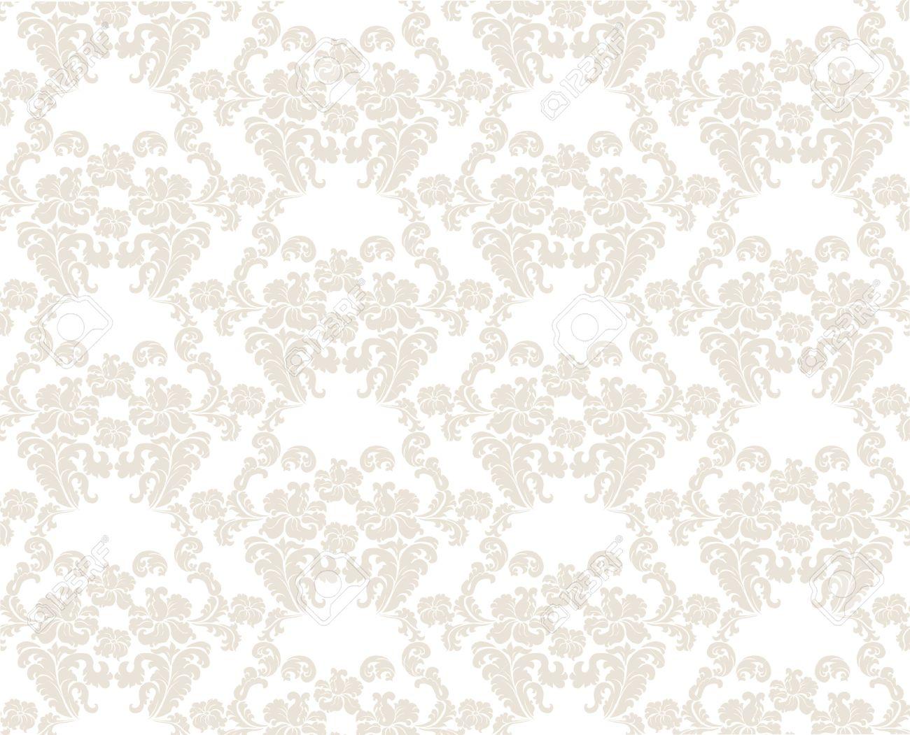 Vintage Elegant Lily Flower Ornament Multiple Pattern Luxury