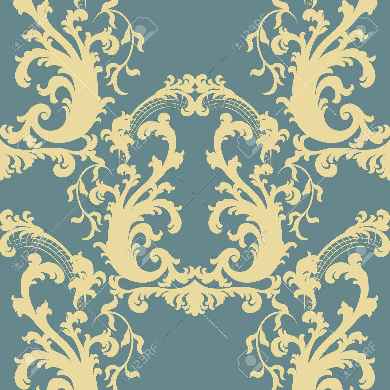 Colorful Baroque Wall Art Embellishment - Art & Wall Decor ...