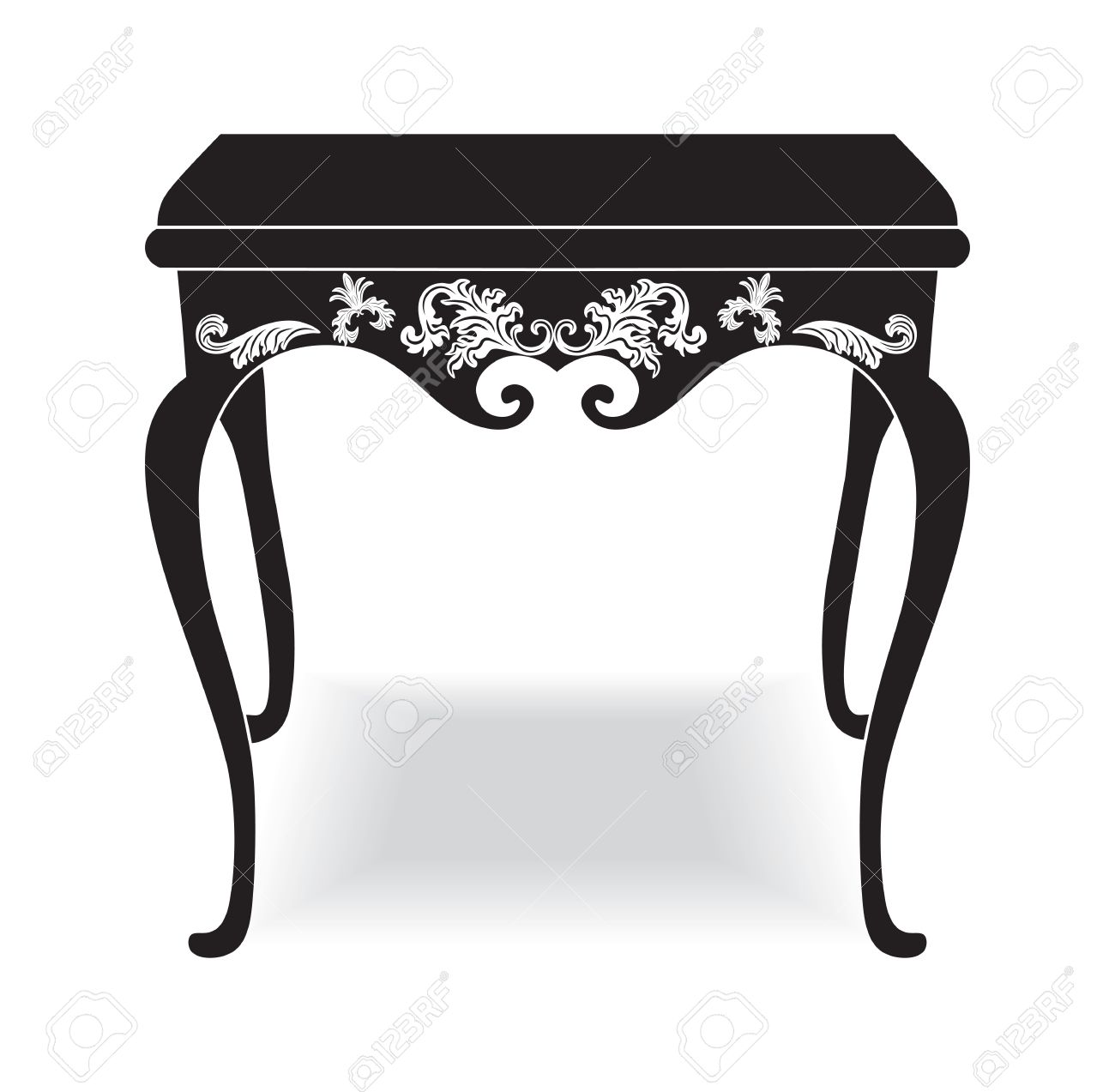 Rich baroque coffee table french luxury rich carved ornaments rich baroque coffee table french luxury rich carved ornaments furniture vector victorian royal style geotapseo Image collections