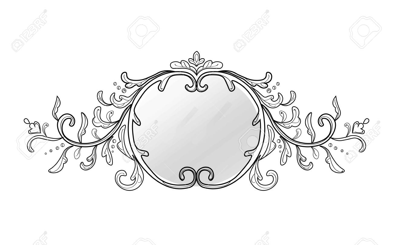 Black vintage frame design Oval Frame Vector Vintage Frame Decor Vector Collection Of Round And Square Vintage Frames Design Elements 123rfcom Vintage Frame Decor Vector Collection Of Round And Square Vintage