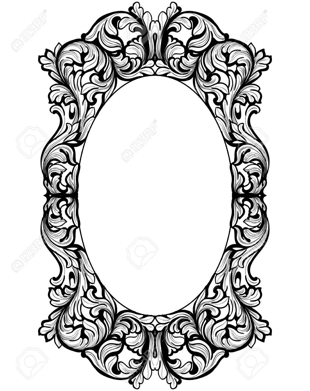 vintage baroque frame decor detailed rich ornament vector rh 123rf com ornamental vectors christmas ornament vectors