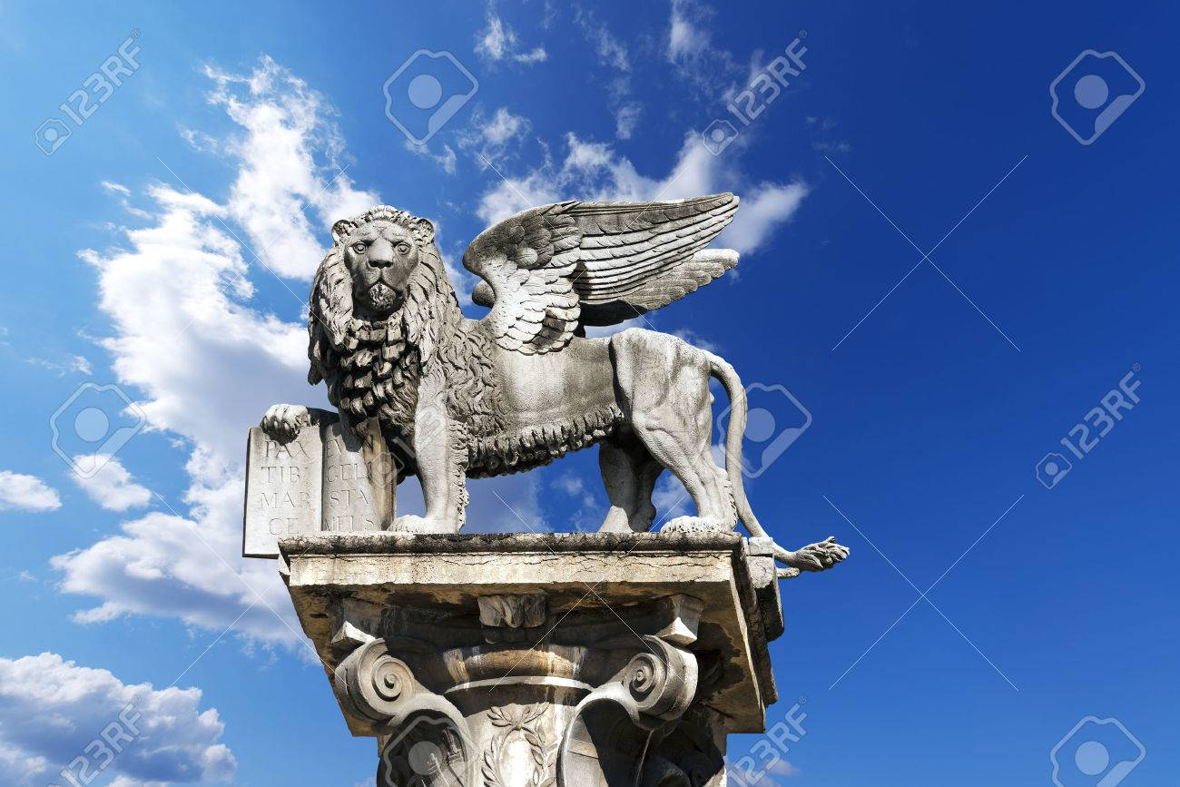 Justice of the peace images stock pictures royalty free justice the winged lion of st mark symbol of the venetian republic in piazza delle biocorpaavc