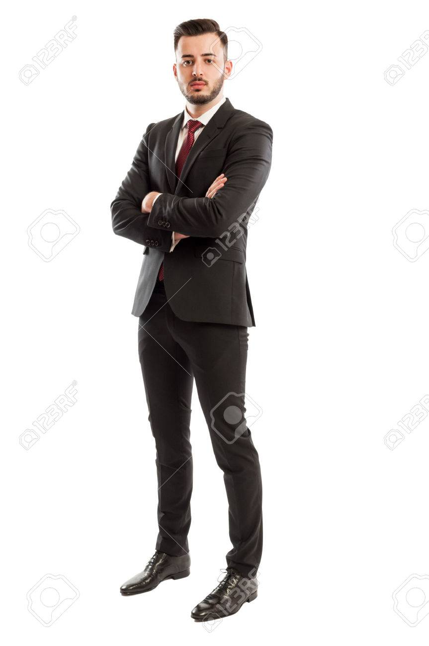 Tall and successful business man - 36878435