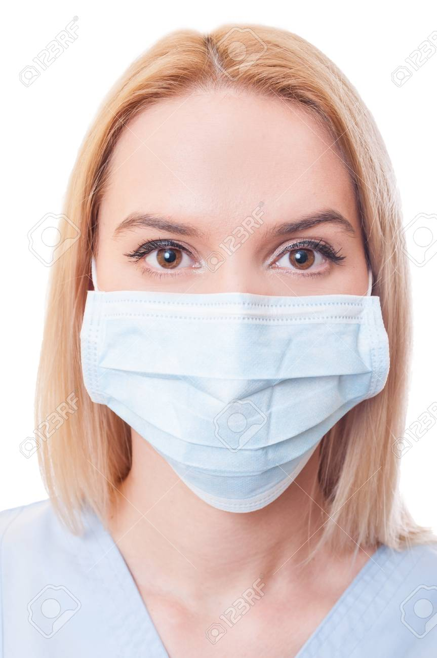 masque chirurgical blanc
