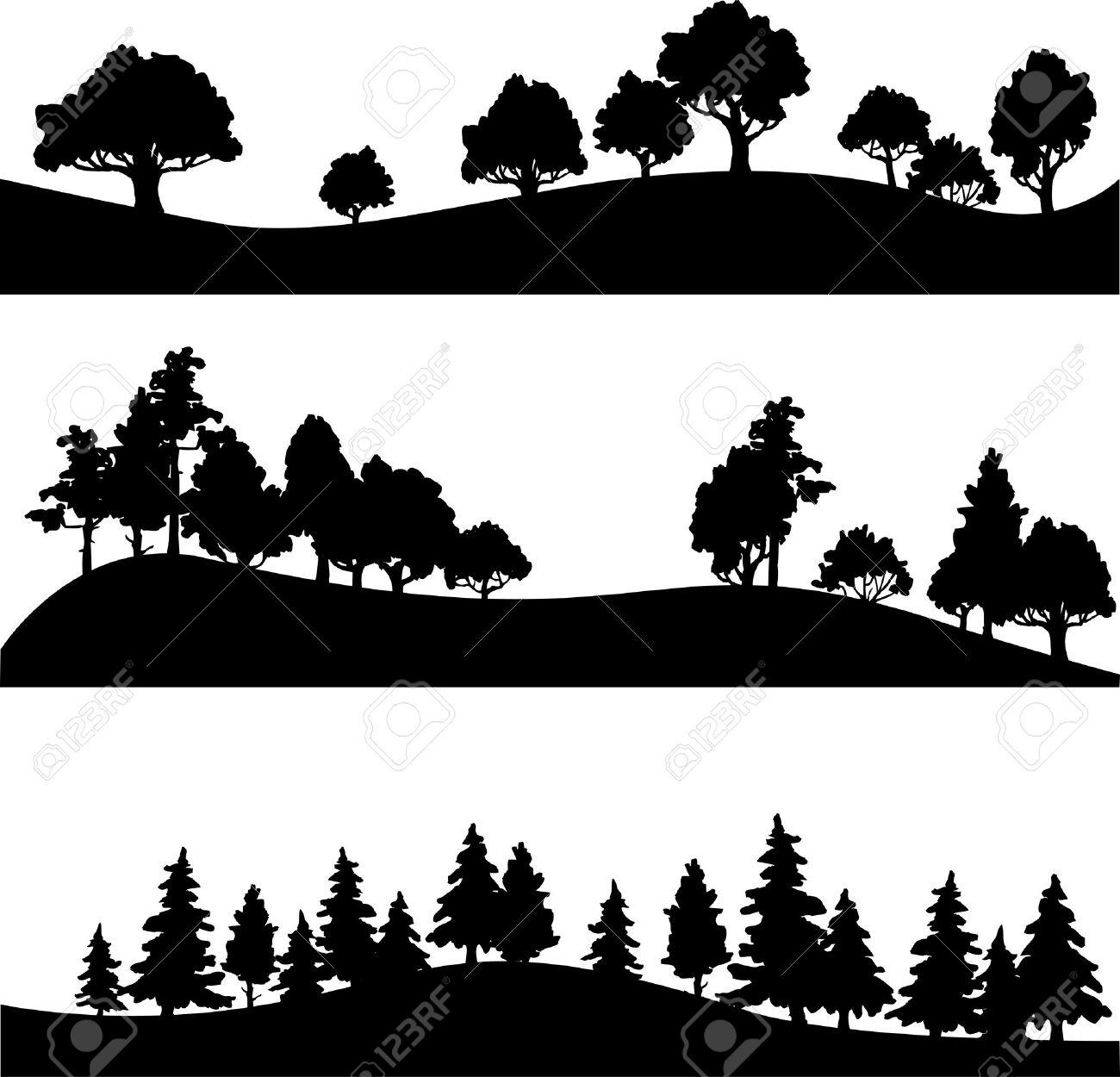 Silhouettes Landscape