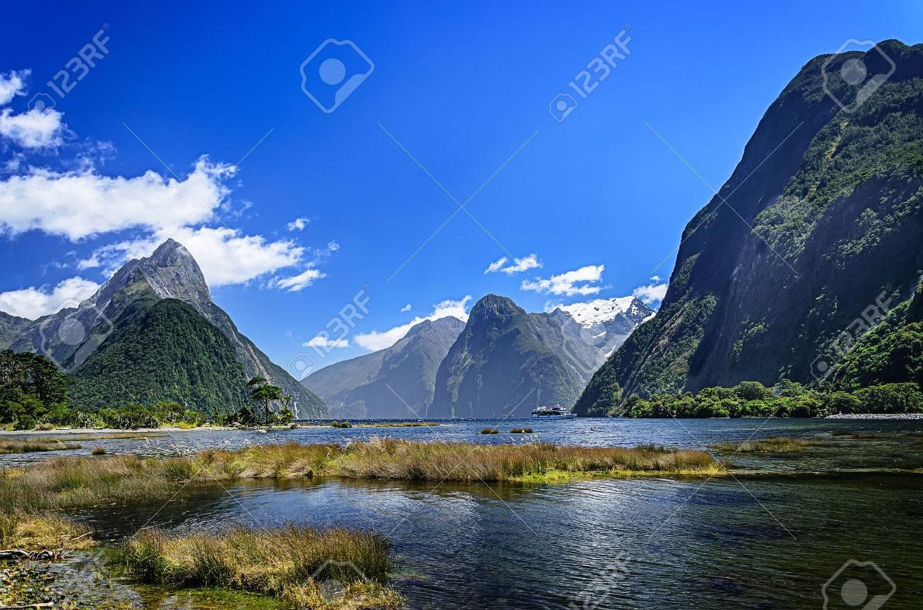 Milford Sound. Fiordland national park, New Zealand - 48110001