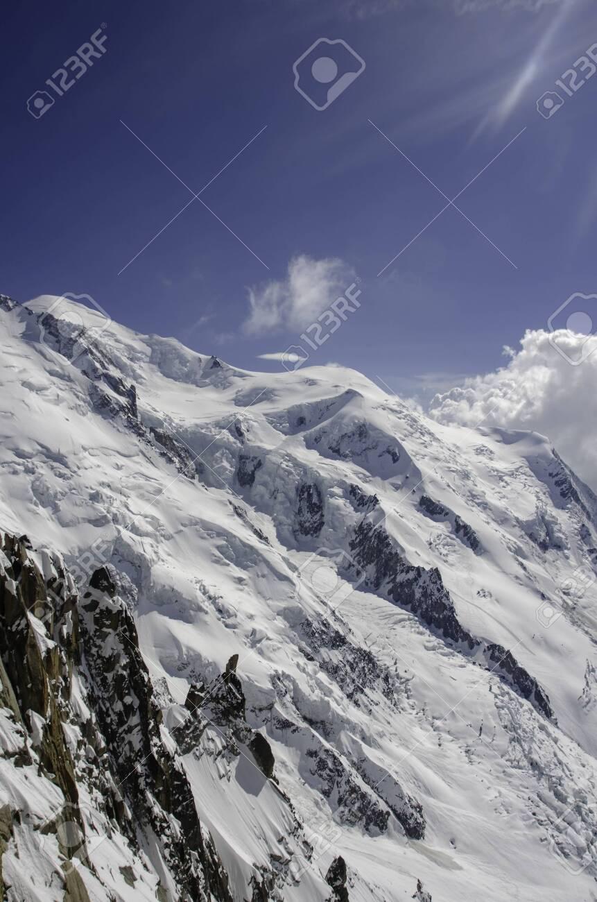 Chamonix. Mont Blanc. mountain. snow - 128254334