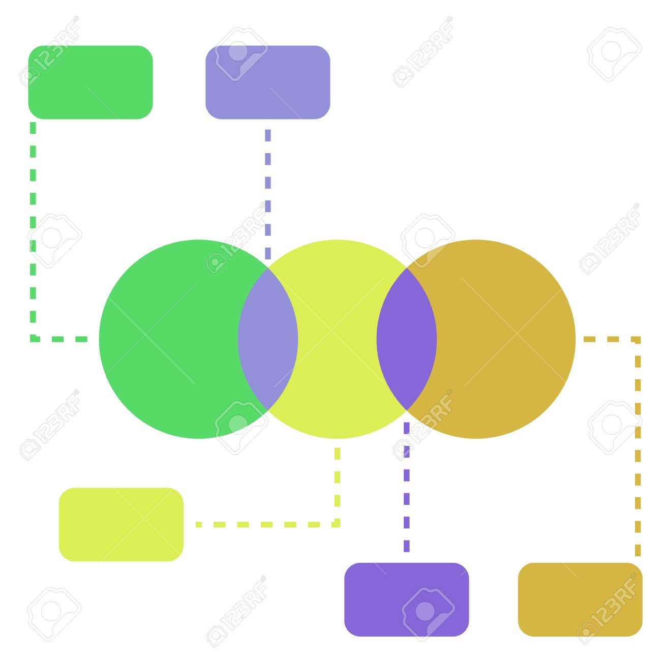 Infographic flat vector illustration venn diagrams template infographic flat vector illustration venn diagrams template stock vector 74551604 pooptronica