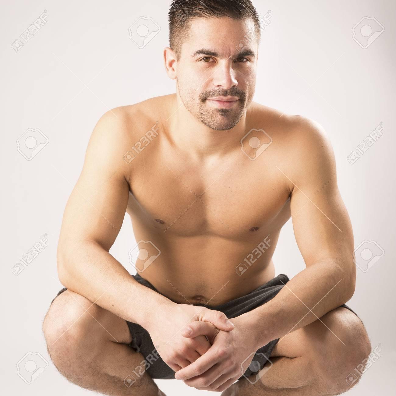 Красавец гей видео
