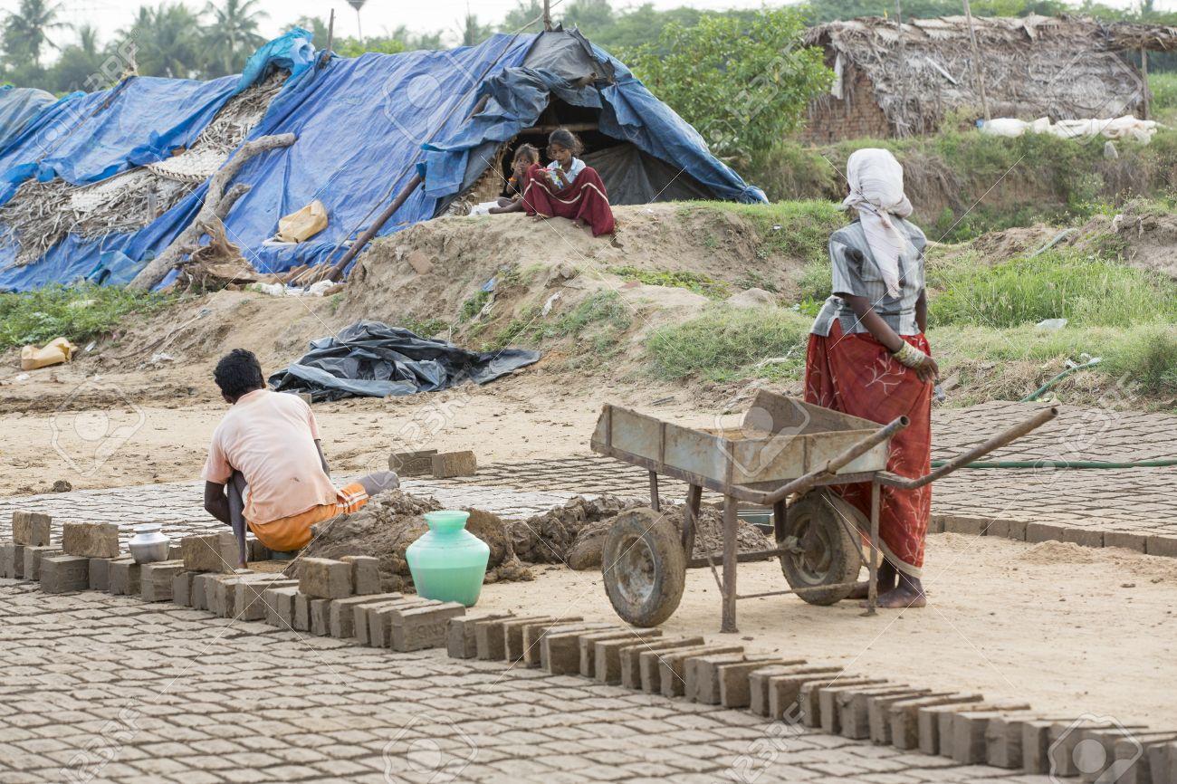 India, Tamil Nadu, Pondicherry aera  Rural life in small villages,
