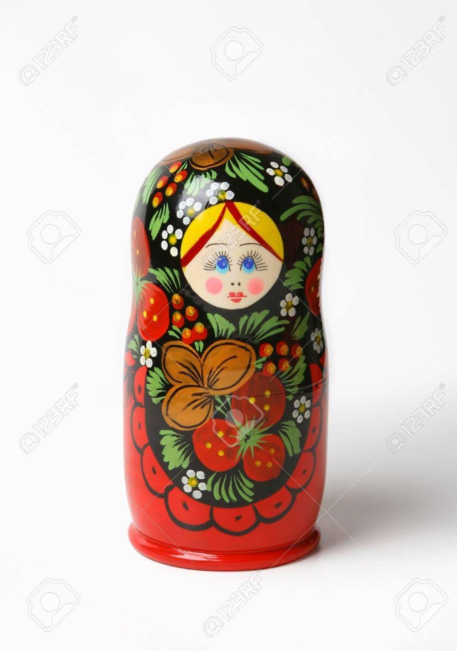 Matroshka - traditional Russian doll Stock Photo - 691465