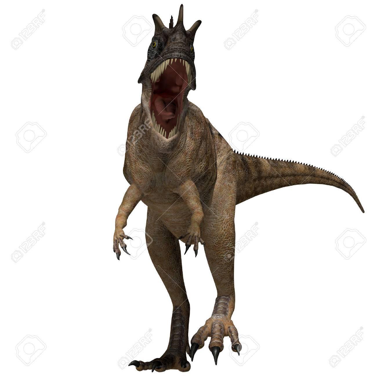 ケラトサウルス恐竜のプロフィー...
