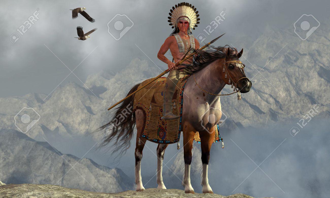 Souvent Indian Soaring Eagle - Deux Pygargues à Tête Blanche Volent Près D  FH52