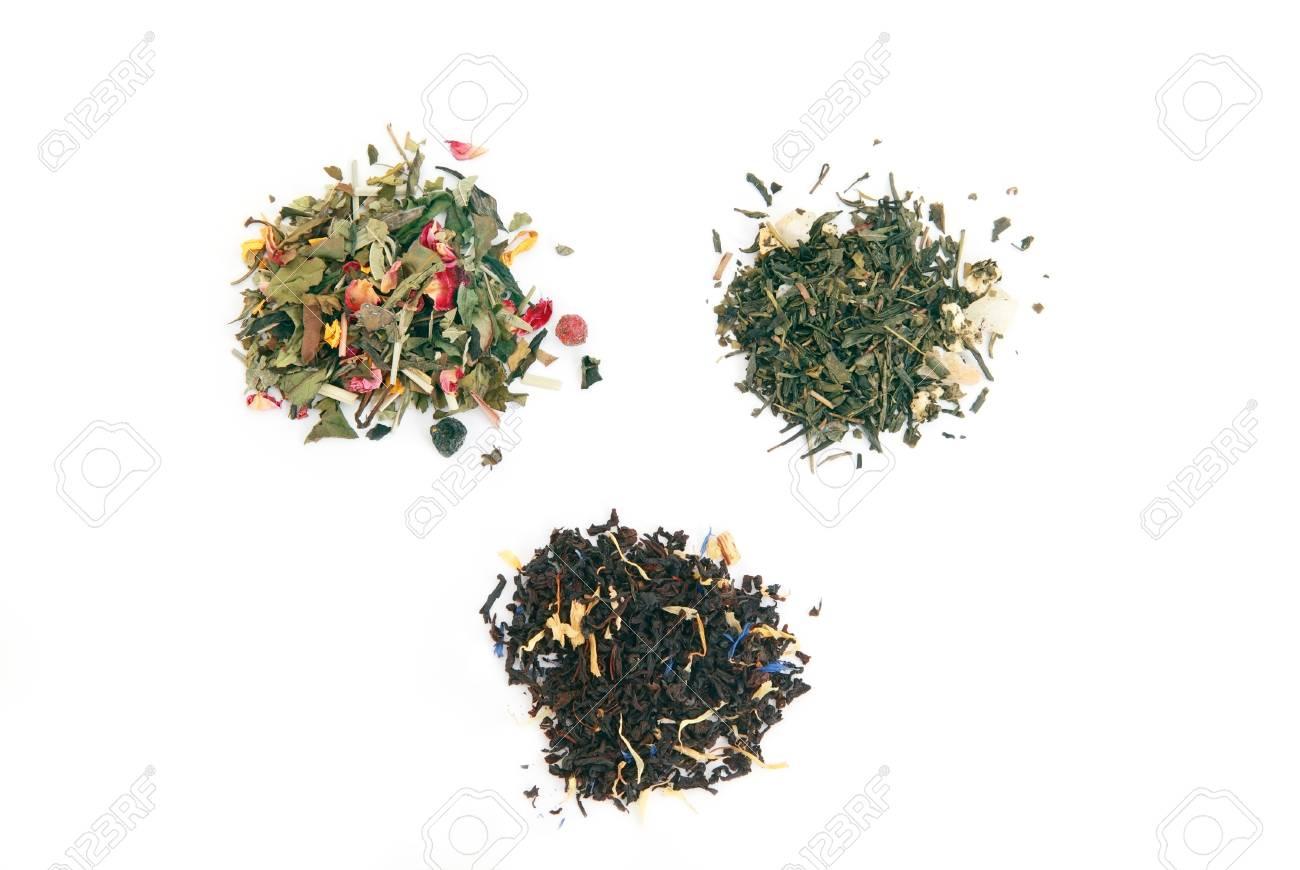 Different Types Of Tea White Tea Black Tea Green Tea Over