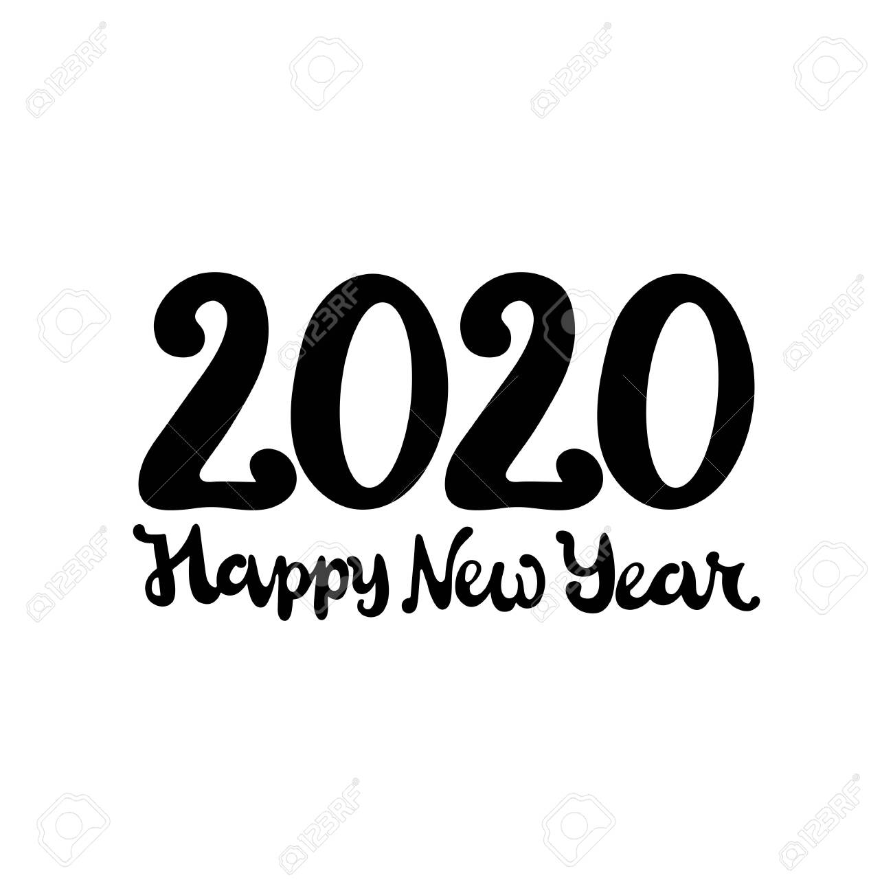 Happy New Year Clipart 2020 78