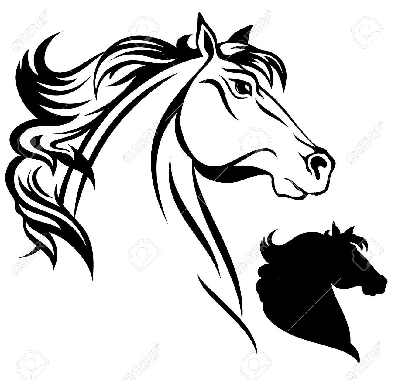 horse head vector royalty free cliparts vectors and stock rh 123rf com horse head vector art horse head vector free