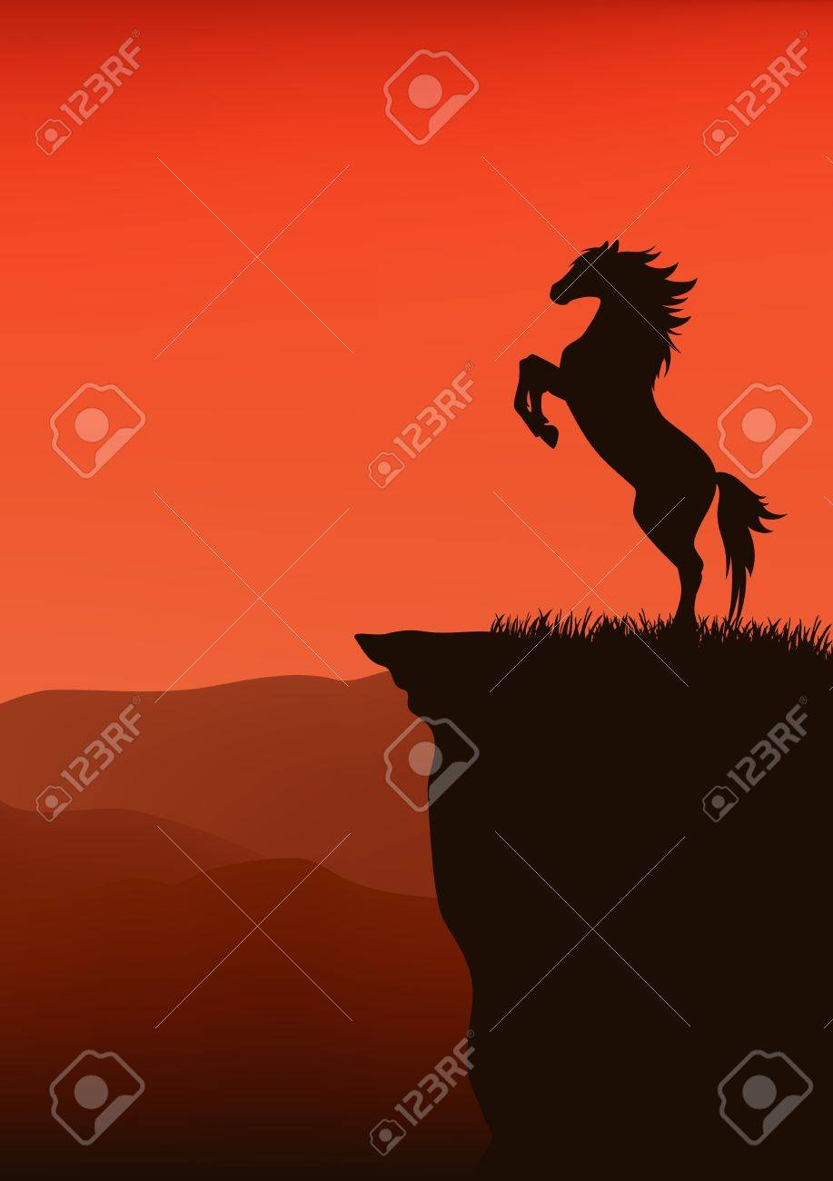 wild west theme vector background with place for your text Stock Vector - 11091141