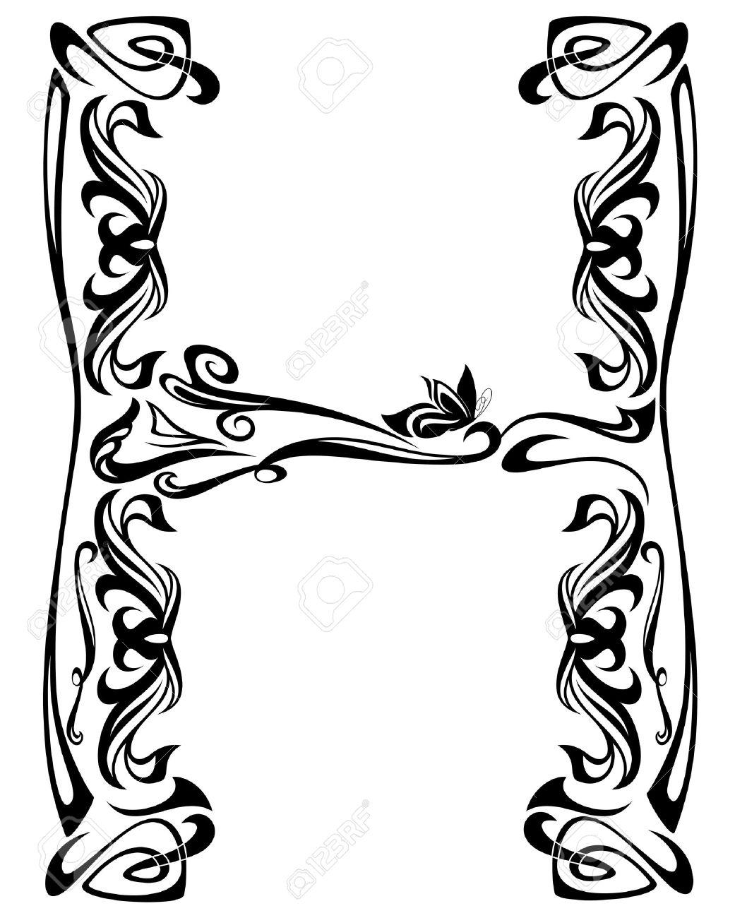 Art Nouveau Style Vintage Font
