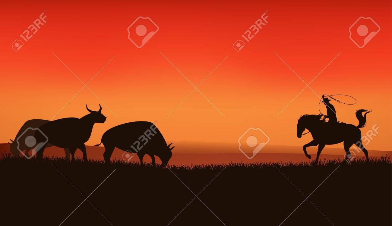 wild west prairie landscape - 30657858