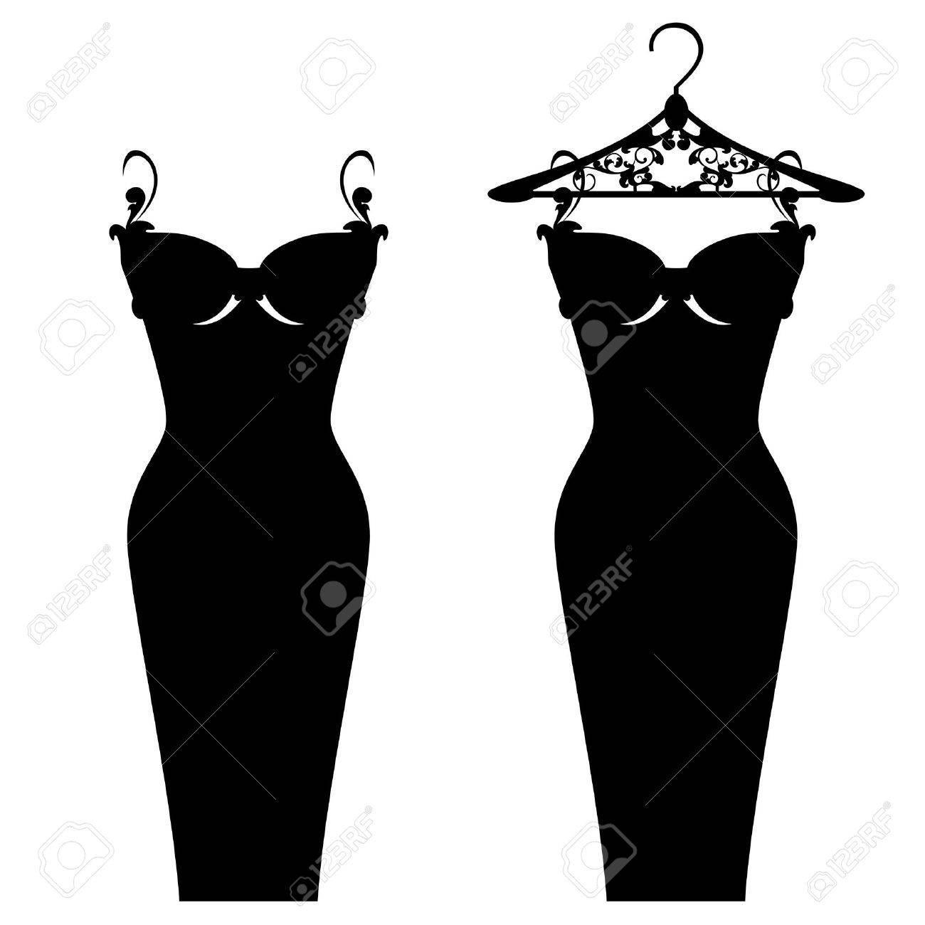 elegant little black dress design - 41545449