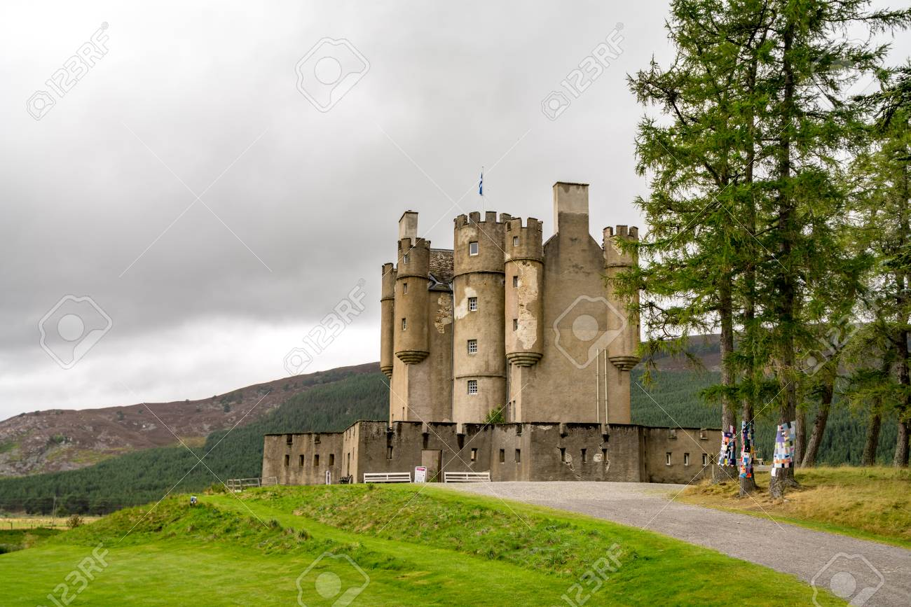 Braemar Castle Aberdeenshire Scotland Is A Former Hunting Lodge Built In 1628 By The
