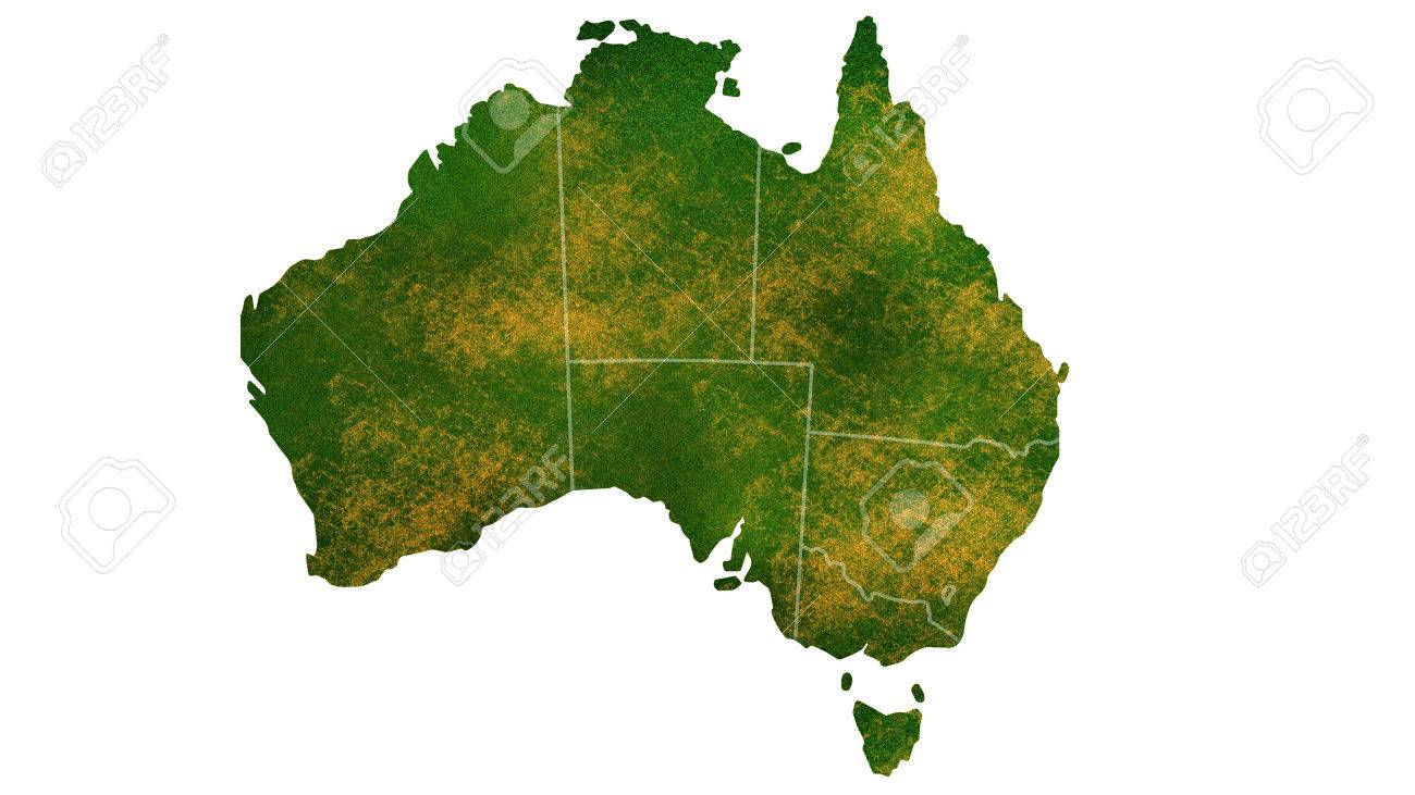 australia map detailed visualization for country placetraveltexture and background stock photo