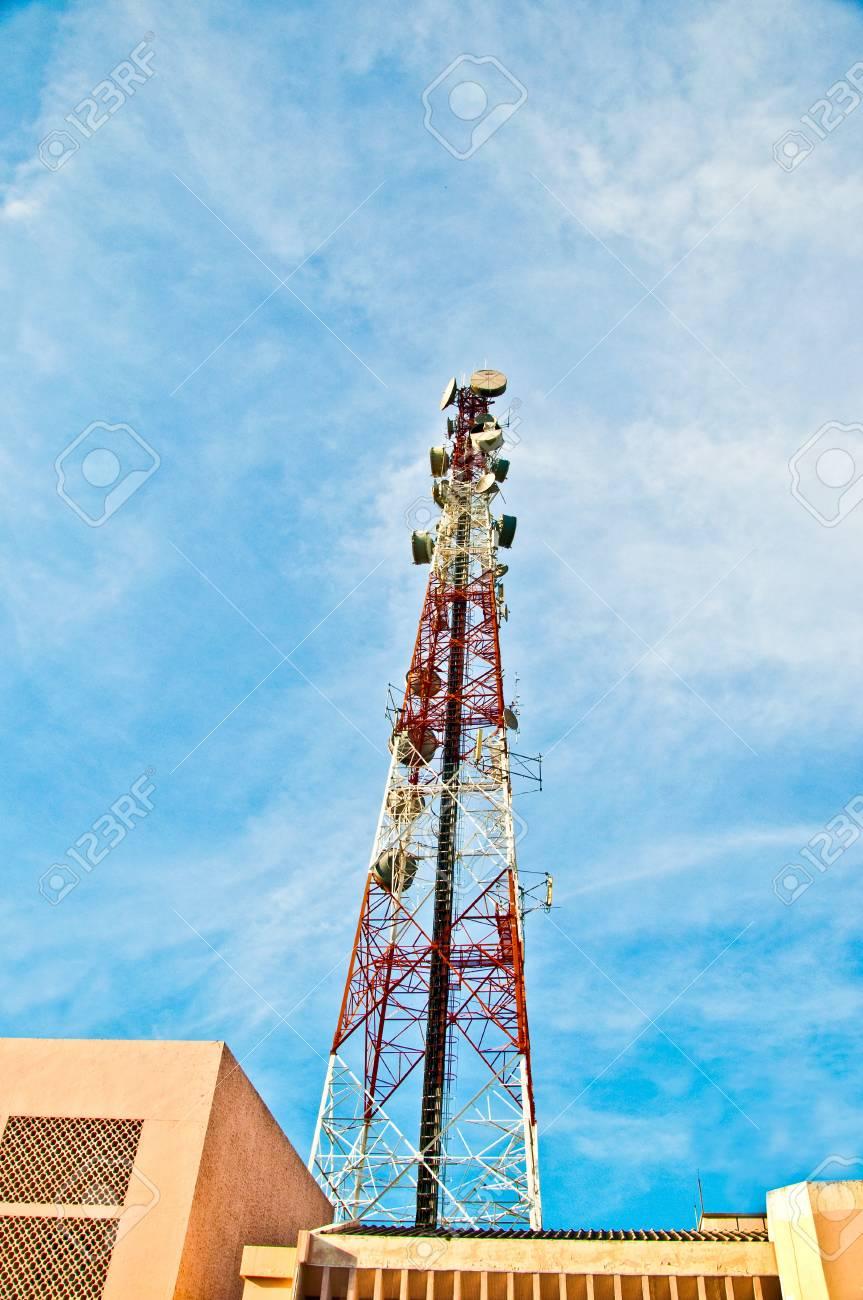 The Communication pole Stock Photo - 8588036