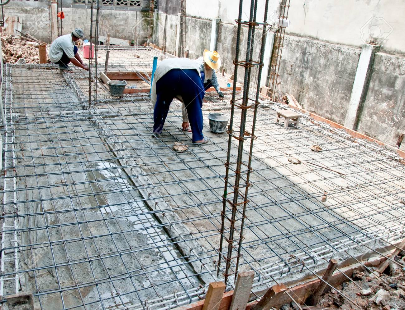 The Home renovation work under construction Stock Photo - 12617259