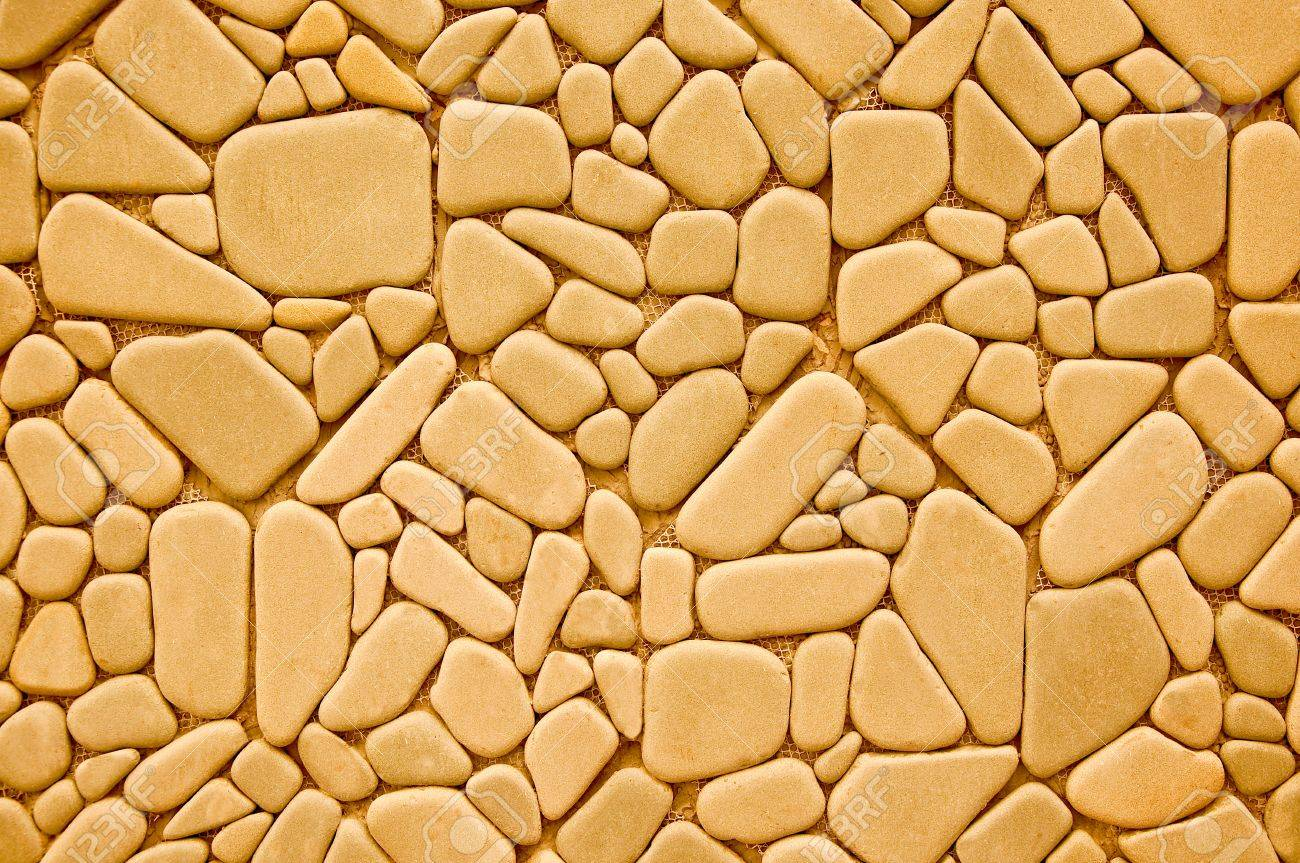 The Abstract Of Pebble Background Texture Stock Photo, Picture And ...