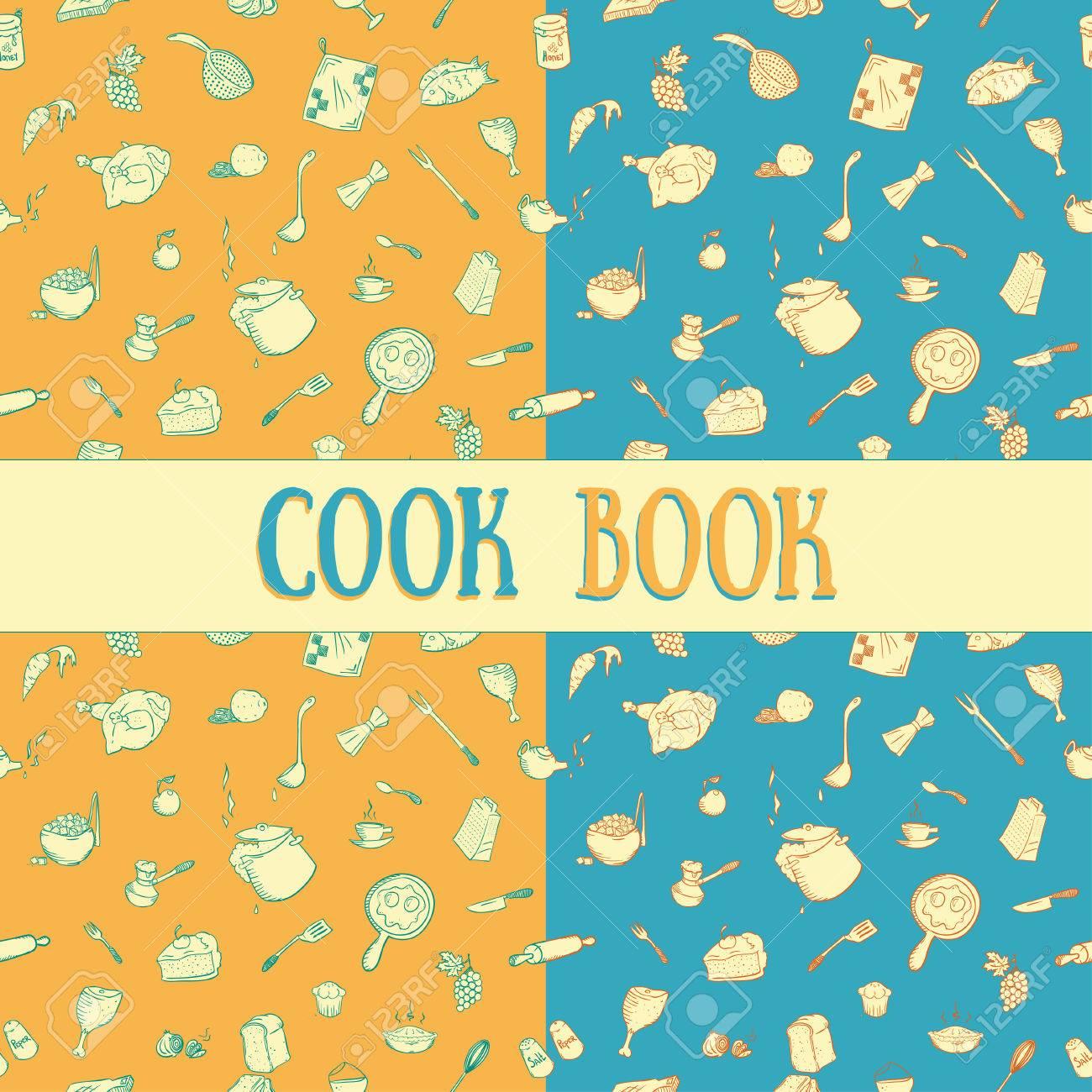 Patrón Sin Costuras De Utensilios De Cocina Bueno Para Imprimir En ...