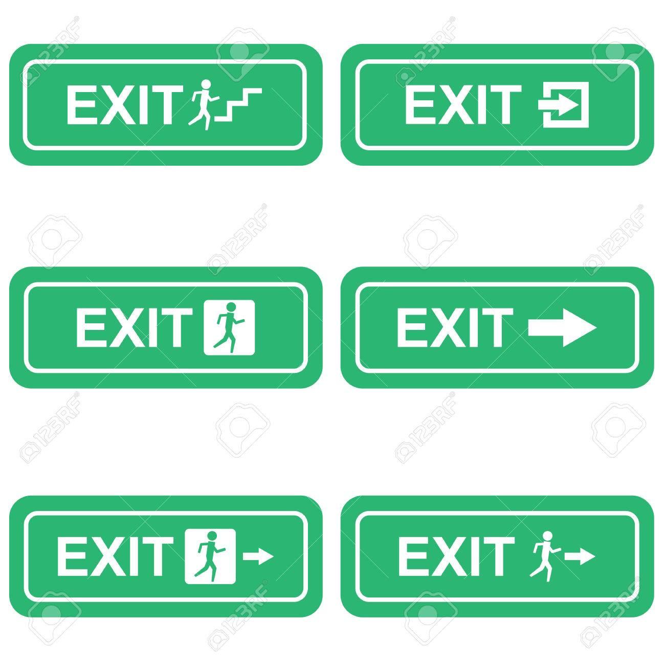Green emergency exit sign symbol vector royalty free cliparts green emergency exit sign symbol vector stock vector 51919512 buycottarizona Images
