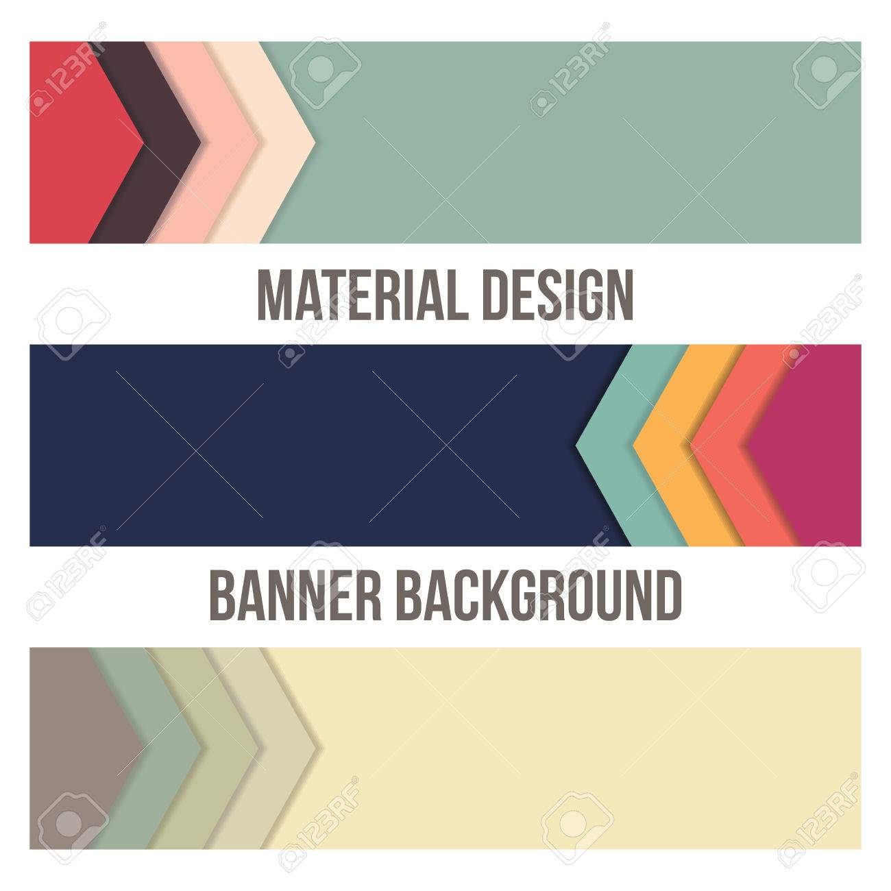 background unusual modern banner material design abstract