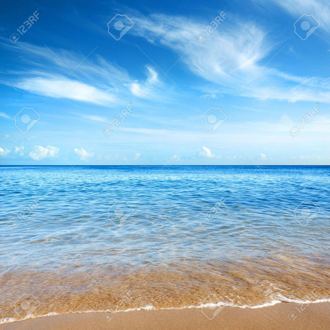 Beautiful seashore with calm cristal clear water Stock Photo - 3280858