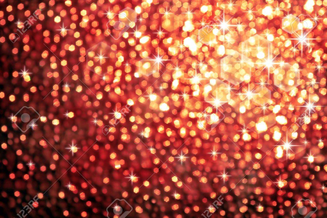 abstract golden background of sparkling christmas lights stock photo 8142318 - Sparkling Christmas Lights