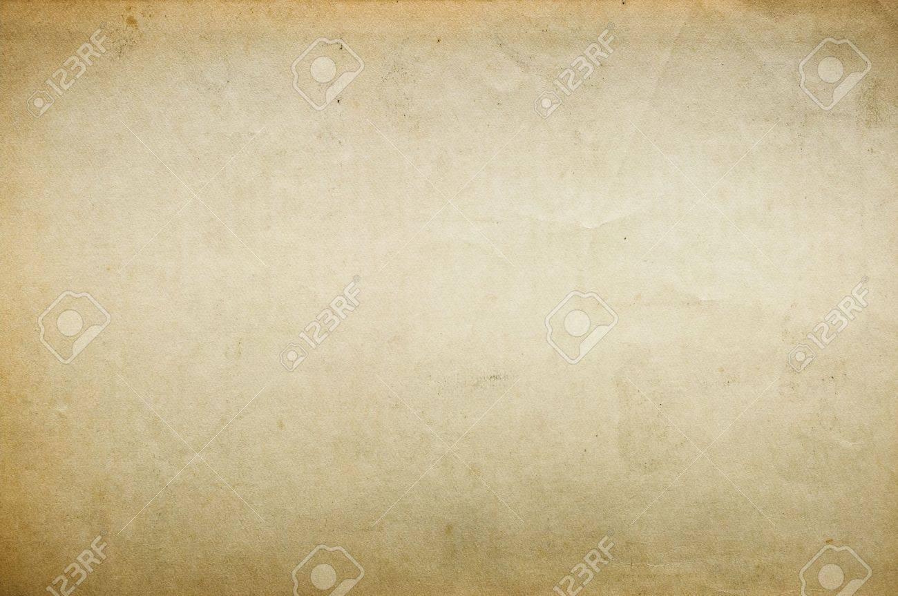 Old blank paper for background Stock Photo - 12076642