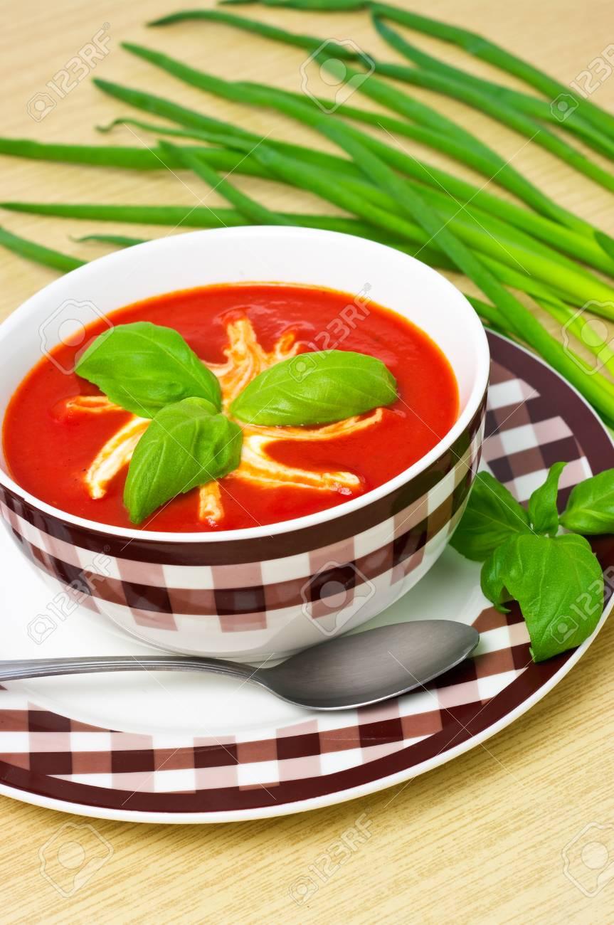 Tomato soup Stock Photo - 12204156