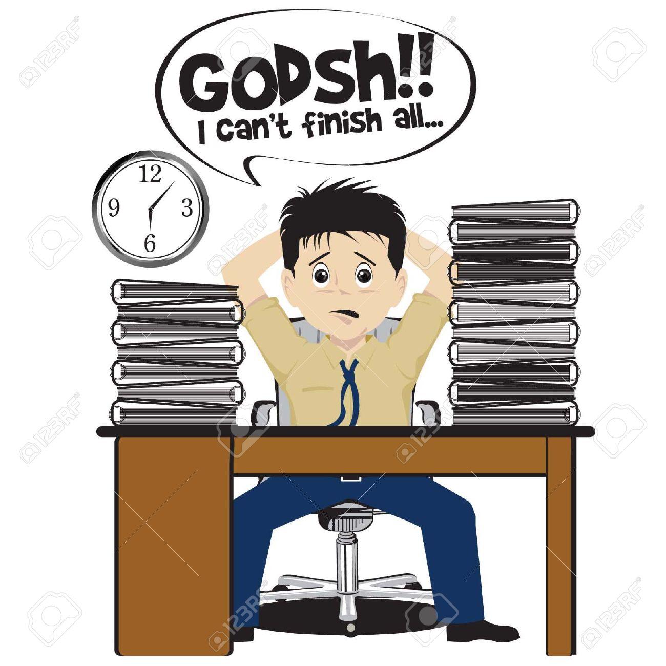 under pressure at work