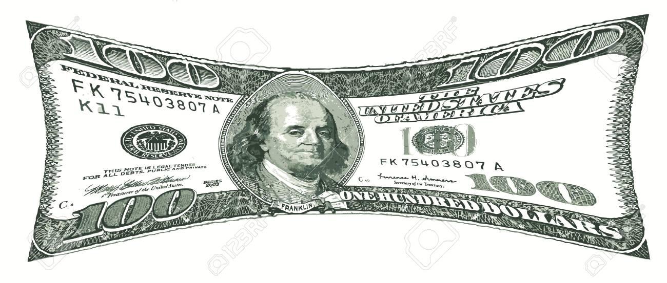 Pressurized 100 Us Dollar Bill Value Under Pressure Stock P O 10348484