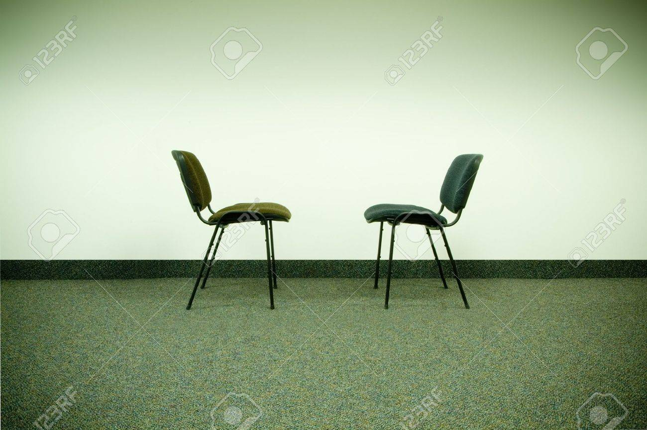 Exceptionnel Stock Photo   Two Chairs In Office Facing Each Other