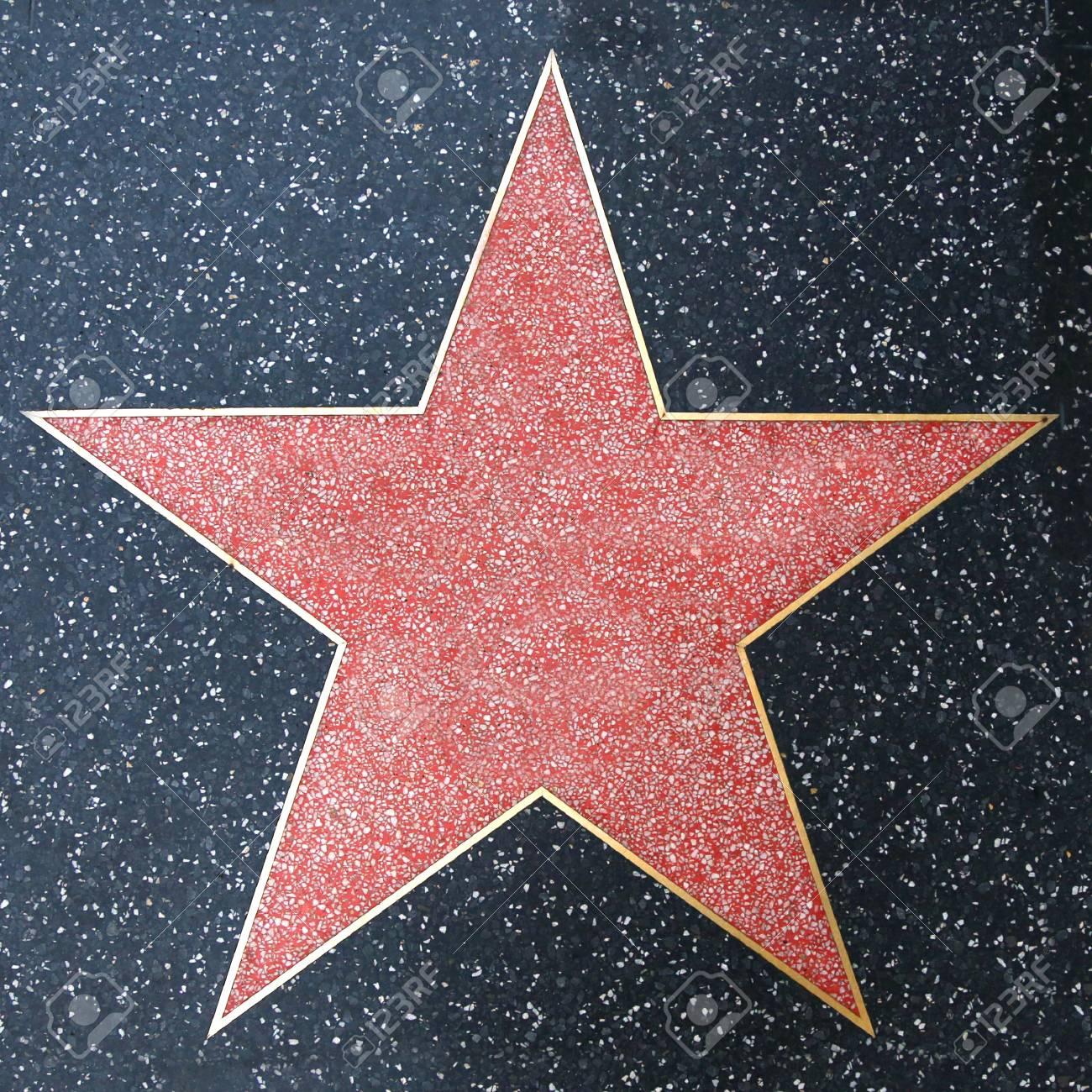 Walk of Fame Blank Star - 120354707