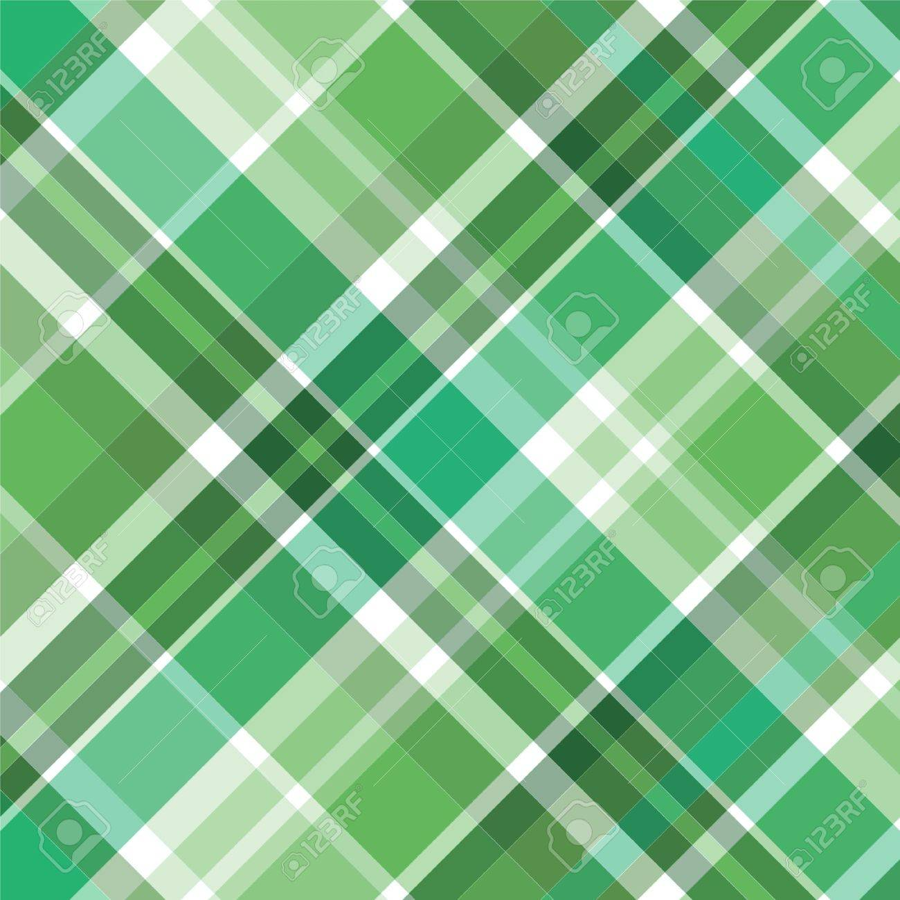 Illustration of green plaid for background pattern Stock Illustration - 3248557