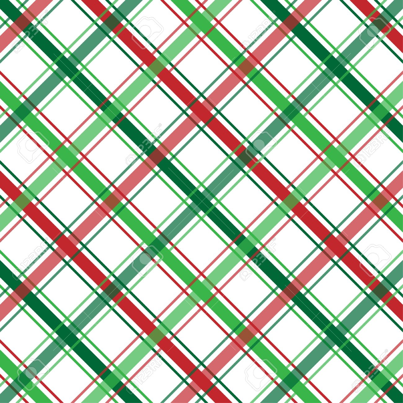 Christmas Green And Red.Stock Illustration